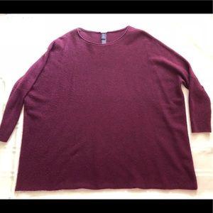 CHICO'S BLACK LABEL Cashmere Sweater - Sz  S/M